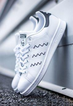 Adidas Stan Smith Black Zig Zag