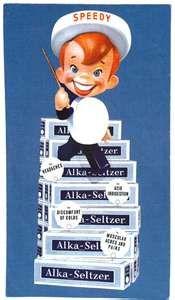 It's Speedy Alka-Seltzer