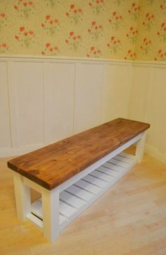 Diy shoe rack bench luxury chunky hall shoe storage bench shoe racks uk by bespokepineuk of Shoe Storage Bench Entryway, Shoe Rack Bench, Diy Shoe Rack, Storage Bench Seating, Shoe Racks, Garage Bench, Bedroom Storage, Foyer Bench, Diy Bench With Storage