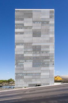 Image result for national congress of brazil facade louver details