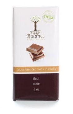 Balance STEVIA čokoláda mliečna 85g