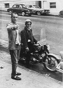 Neal Cassady And Charles Plymell, 1963
