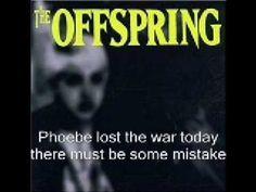 The Offspring - Jennifer Lost The War Lyrics Protest Songs, Lyrics, Lost, War, Music, Youtube, Movie Posters, Musica, Musik