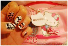 Hello Kitty Nail Design Hello Kitty Nails, Cat Nails, Nail Designs, Nail Desings, Nail Design, Nail Organization, Nail Art Ideas