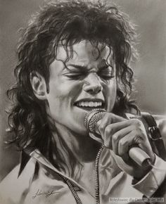 drawings of famous people-Micheal Jackson