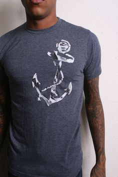 Ahoy maties Anchors away in the big ol whimsical sea of life. Get creative with your own color choices of this awesome crew or v-neck Shirt by sacerandsavive on Etsy Crew Neck, V Neck, Anchors, Neck T Shirt, Whimsical, Unisex, Trending Outfits, Clothing, Choices