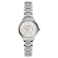 Burberry BU10108-Wear your Style #DesignerPoshWatches #forhim #Gift #Watches #Watchcollection #UK #Classic_Watches #BestGifts #Trends_Watch #Watchoholic #forwomen #Wristwatch #quartzwatch #watch #time #watchlover #watchaddict #watchoftheday #luxurylifestyle #watchesforher #Burberry #BU10108 Burberry Watch, Burberry Women, Stainless Steel Watch, Stainless Steel Bracelet, Armani Watches For Men, Burberry Classic, Gold Watch, Bracelet Watch, Quartz