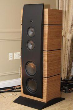 High End Audio Equipment For Sale Audiophile Speakers, Hifi Audio, Stereo Speakers, Car Audio, Speaker Amplifier, Diy Storage Cabinets, Speaker Box Design, Tower Speakers, Audio Room