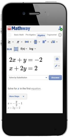 46 Best Mathway In the News images | App, Math problem ... Mathway Elimination on