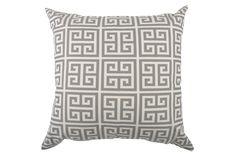 Accent Pillow-Egypt Grey 22X22