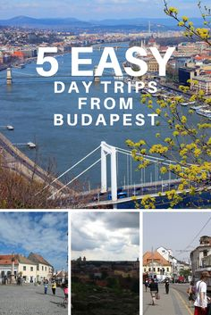 The capital of Hungary, Budapest, offers a lot of things to do within the city limits. You really cannot get bored on a trip here. But we all love diversity and , over the years, we've come to enjoy doing various day trips from the cities we are visiting.