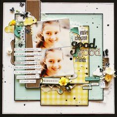 Georgia Keays! Like the layers and journaling strips!