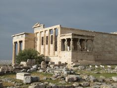 Karyatides #Athens