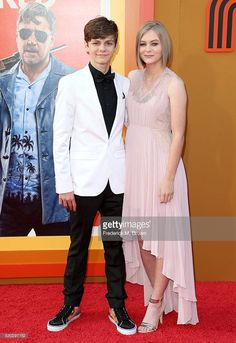 Ty and Ryan Simpkins at The Nice Guys premiere - May 10th, 2016