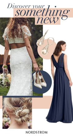 Complete your wedding day style with a dreamy dress and the perfect accessories. Get a look you love from head-to-toe when you shop at the Nordstrom Wedding Suite.