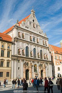 kostel sv. Michala/ Mnichov