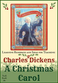 Charles Dickens A Christmas Carol ~ Lesson Ideas – Teach Beside Me Christmas Carol Charles Dickens, Dickens Christmas Carol, Christmas Books, Christmas Things, Christmas Games, Christmas 2017, Christmas Crafts, Xmas, Christmas Activities For Kids