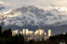 Beautiful Tehran, Iran.  Lived at the base of Niavaron Mountians.