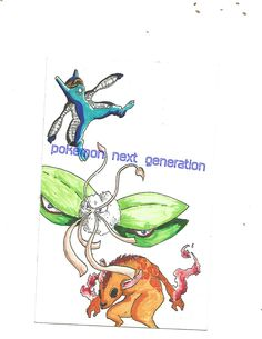 starter pokemon for next generation  tribal beast ,city creatures , future savages