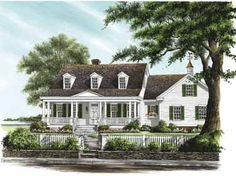 Home Plans HOMEPW26765 - 1,942 Square Feet, 3 Bedroom 2 Bathroom Farmhouse Home with 2 Garage Bays