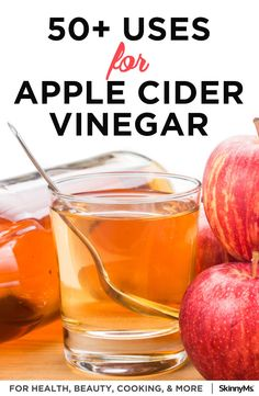 50 Amazing Ways To Use Apple Cider Vinegar For Health And Home Vinegar For Health, Apple Cider Vinegar Health, Apple Health Benefits, Apple Cider Benefits, Natural Cough Remedies, Cold Home Remedies, Natural Cures, Herbal Remedies, Health Remedies
