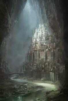 Under ground castle