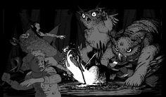 Dnd Art, Game Design, Dungeons And Dragons, Monsters, Concept Art, Medieval, Digital Art, Nerd, Creatures