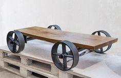 stolek T08 Vladan Běhal Design Picnic Table, Prague, Coffee Tables, Showroom, Furniture, Design, Home Decor, Home Furnishings, Interior Design