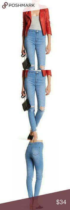 New Ashley Mason High Waisted Skinny Jeans New Ashley Mason High Waist Distressed Skinny Jeans Ashley Mason for Nordstrom Rack Jeans Skinny