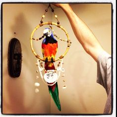 My first homemade Enchanted Tiki Room Bird