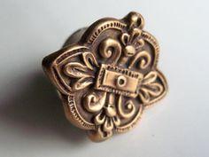 Eleonor d'Aquitaine Royal Seal Ring 2 Fleur de Lis by HDRustic, $70.00