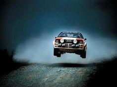 1985 - Michelle Mouton winning Pikes Peak