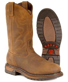 "Georgia Boot: 11"" Men's Thermal-Tec Wellington Steel-Toe Work ..."