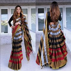 How To Style Lehenga Dupatta In 20 Different Ways - Saree Styles Lehenga Saree Design, Lehenga Dupatta, Saree Blouse Designs, Dhoti Saree, Indian Gowns, Indian Attire, Indian Sarees, Stylish Sarees, Stylish Dresses