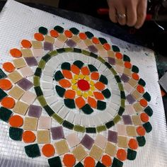 Mosaic Coffee Table, Peace Dove, Mosaic Art, Amazing Art, Diy And Crafts, Flora, Chair, Board, Home Decor