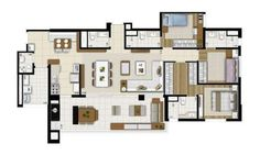 Apartamento de 134 m² com piscina em Brooklin, São Paulo - ZAP IMÓVEIS