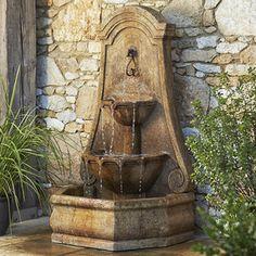 Monaco Wall Fountain   Fountains   Garden Décor And Fountains   Lawn U0026  Garden   Outdoor