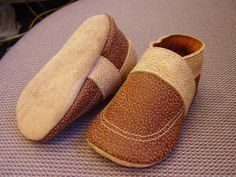 How to Make Soft Leather Baby Shoes by chloetoesboutique #Babies #Baby_Shoes #chloestoesboutique