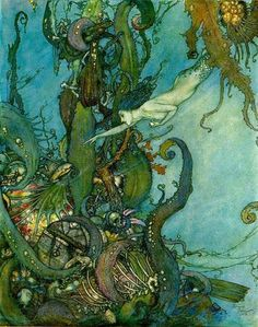 All of Edmund Dulac's fairytale art