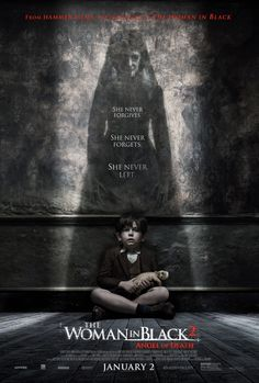 Evil Lurks in The Woman in Black: Angel of Death Poster