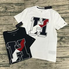 Fashion Clothes, Fashion Outfits, Tommy Hilfiger, Surf, Note, Mens Tops, T Shirt, How To Wear, Design