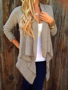 Cotton Made Fall In Love Cardigan