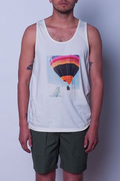 Lifetime Collective / Men's Collection / TEES / AEOLUS FLIGHT TANK - OFF WHITE