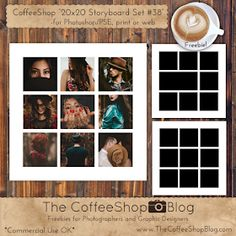 The CoffeeShop Blog: CoffeeShop Storyboard Templates and Frames