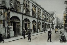 "Glimpse of the Past"" into the Old Quarters of Wanchai, 1910-1920s."