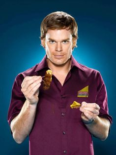 Dexter Season 3 Promo - Dexter Morgan (Michael C. Dexter Morgan, Dexter Debra, Tony Soprano, Walter White, Dexter Season 3, Dexter Poster, Tea Gift Baskets, Michael C Hall, Six Feet Under