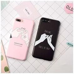 NEW ART SIMPLE LOVE GESTURE COUPLE MATTE SOFT CASE COVER FOR IPHONE 6 6S 7 PLUS #fashion #trend #style #onlineshop #shoptagr