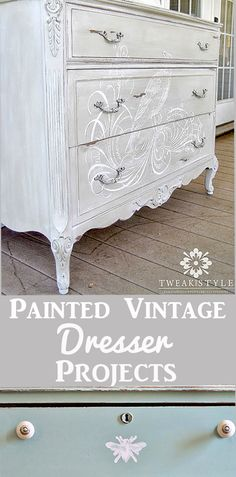 Today I've rounded up 14 DIY Painted Dresser Projects! All of these wonderful crafts and projects were created using Vintage Graphics from my site. Handmade Home Decor, Diy Home Decor, Painted Furniture, Diy Furniture, Furniture Stores, Rustic Furniture, Refinished Furniture, Furniture Layout, Bedroom Furniture