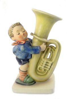 hummel+figurines | Hummel Tuba Player Hummel Figurine 437 | Your Favorite Figurines | Pi ...