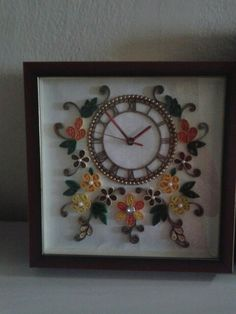Quilling clock ideas